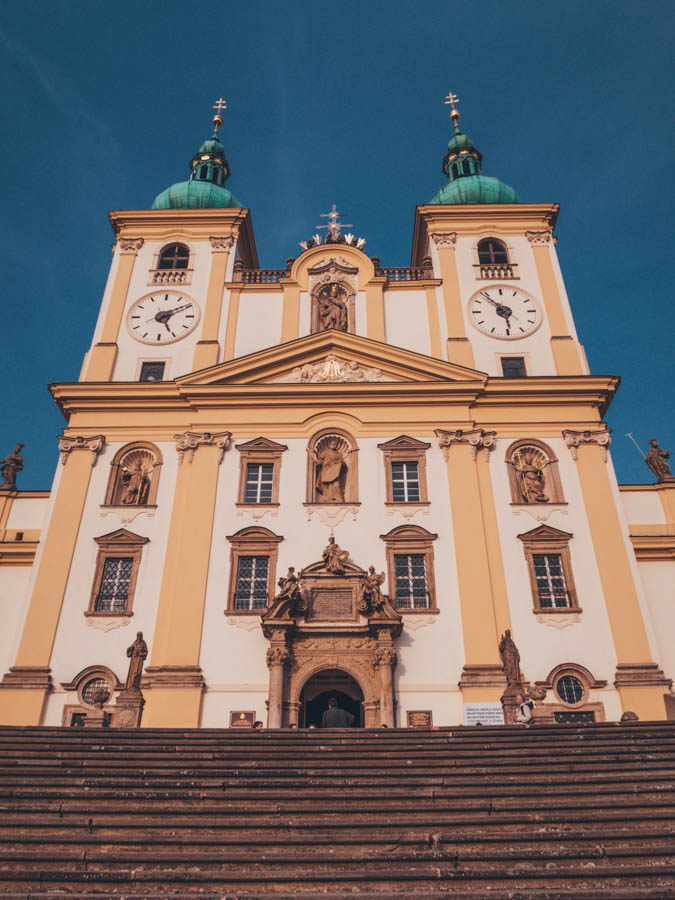 A weekend in Olomouc? Here's a list of things to do in Olomouc  Minor Basilica of the Visitation of the Blessed Virgin Mary