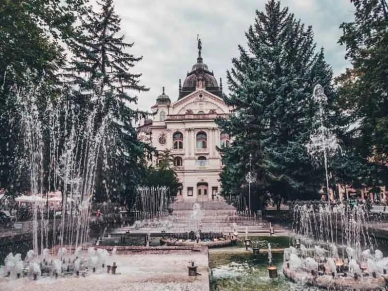 Eastern Europe road trip itinerary 2-4 weeks (Baltic road trip itinerary) Kosice Slovakia