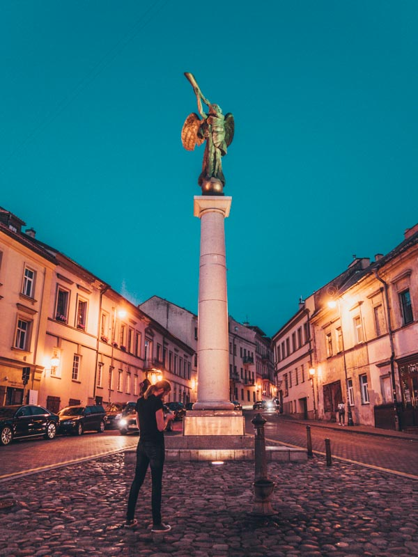 vilnius lithuania Eastern Europe road trip itinerary 2-4 weeks (Baltic road trip itinerary)