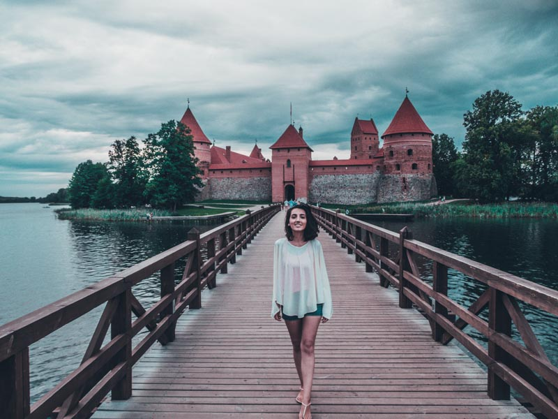 Trakai Island Castle Eastern Europe road trip itinerary 2-4 weeks (Baltic road trip itinerary)