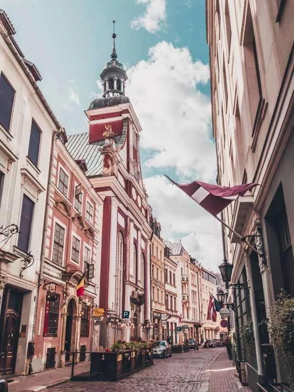 riga latvia Eastern Europe road trip itinerary 2-4 weeks (Baltic road trip itinerary)