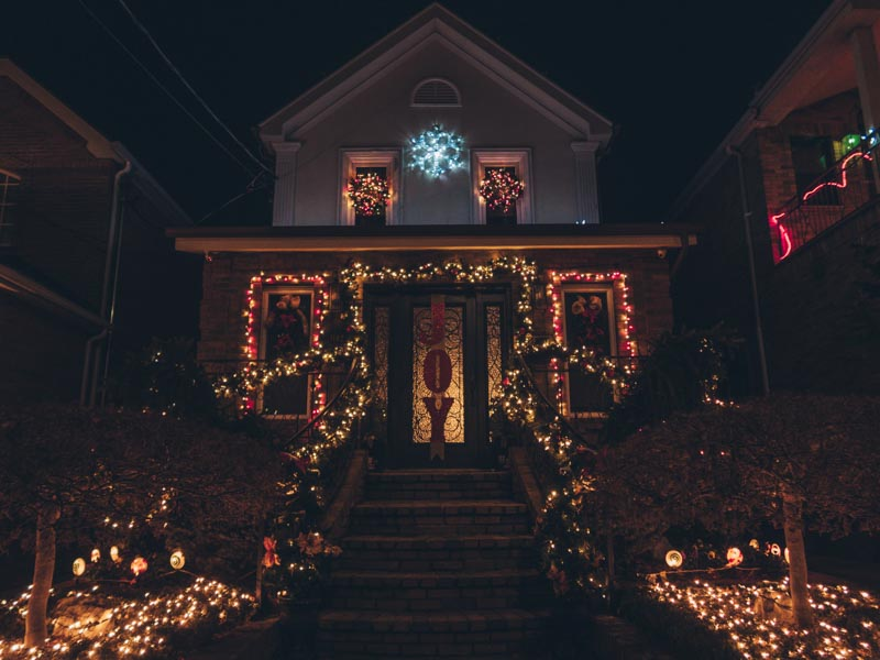 Things to do in New York City in December dyker heights