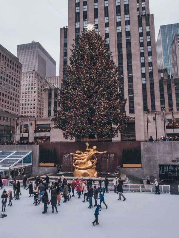 Things to do in New York City in December Rockefeller center