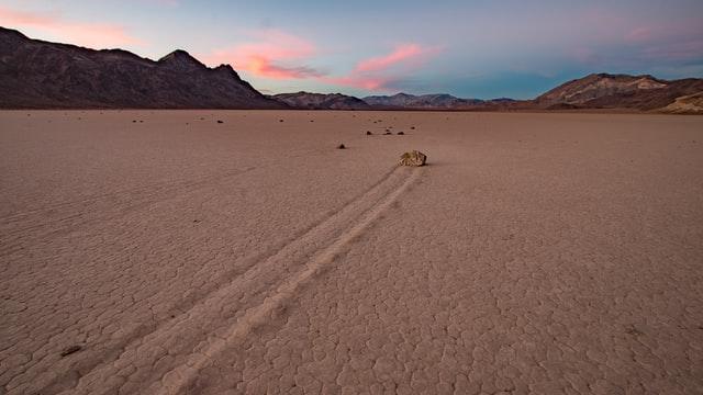 Why do people travel in inhospitable places Death Valley, California