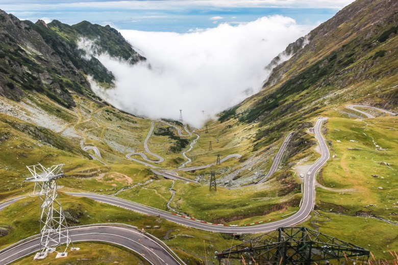 What is Romania known for transfagarasan