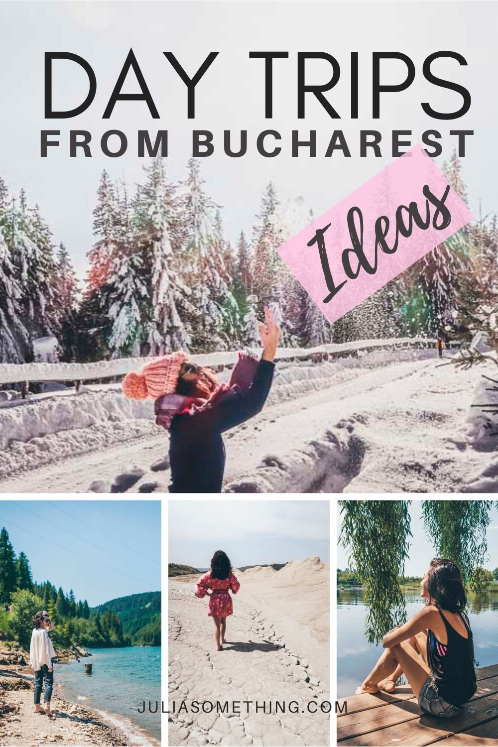 What are the best day trips to take from Bucharest, Romania? Here are the best things to do around Bucharest and 1-day trip ideas from Bucharest! The Best Day Trips From Bucharest, Romania | 1-day trip from Bucharest, Romania | Day trips ideas from Bucharest, Romania | What to do in Bucharest, Romania | What to do around Bucharest, Romania | Day trip ideas from Bucharest, Romania #Romania #Bucharest #daytrip #roadtrip