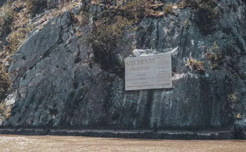 Tabula Széchenyi places to see in romania cazanele dunarii Danube gorges Dobova motor boat tour