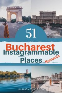 Are you planning on Visiting Bucharest, Romania? Then you need to know the best Instagrammable places in Bucharest! (The complete list - from a local!)