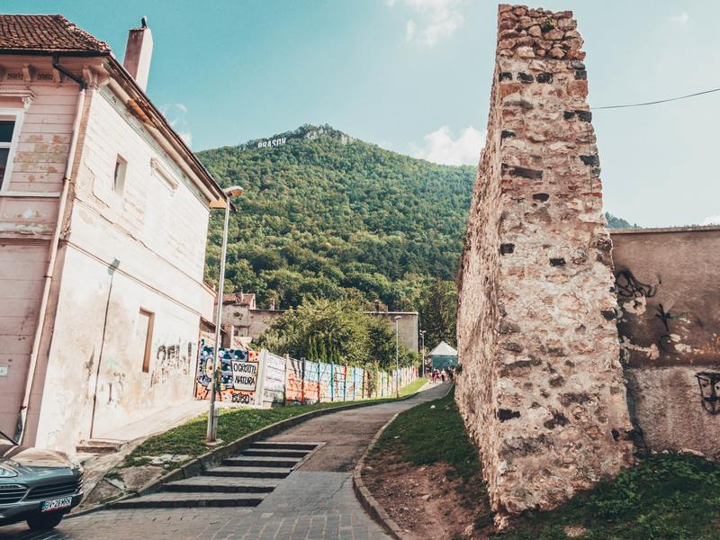 Catherine's Gate and Brasov's fortified medieval walls  Top 11 things to do in Brasov, Romania