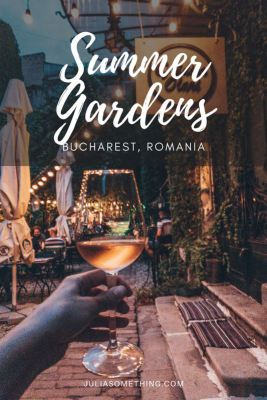 Stunning summer gardens in bucharest romania you have to visit