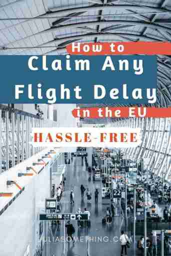 How to claim your delayed flight compensation in the EU (Need to register before the flight)