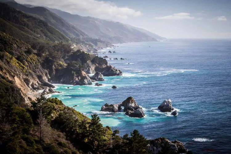 2 Big Sur, California Best places to visit in September in the USA