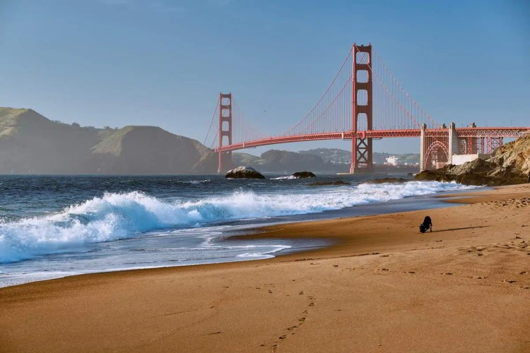 6 San Francisco, California Best places to visit in September in the USA