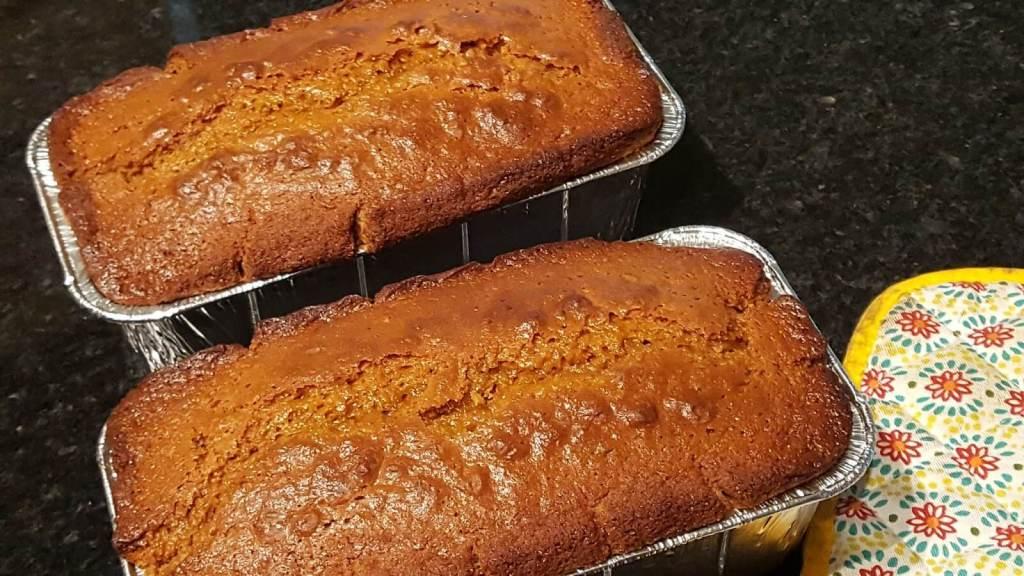 Easy homemade pumpkin bread using molasses