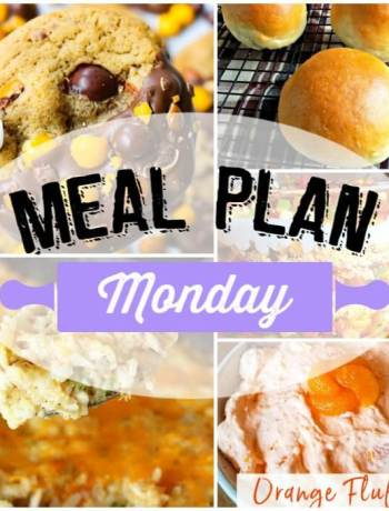 Meal Plan Monday 165