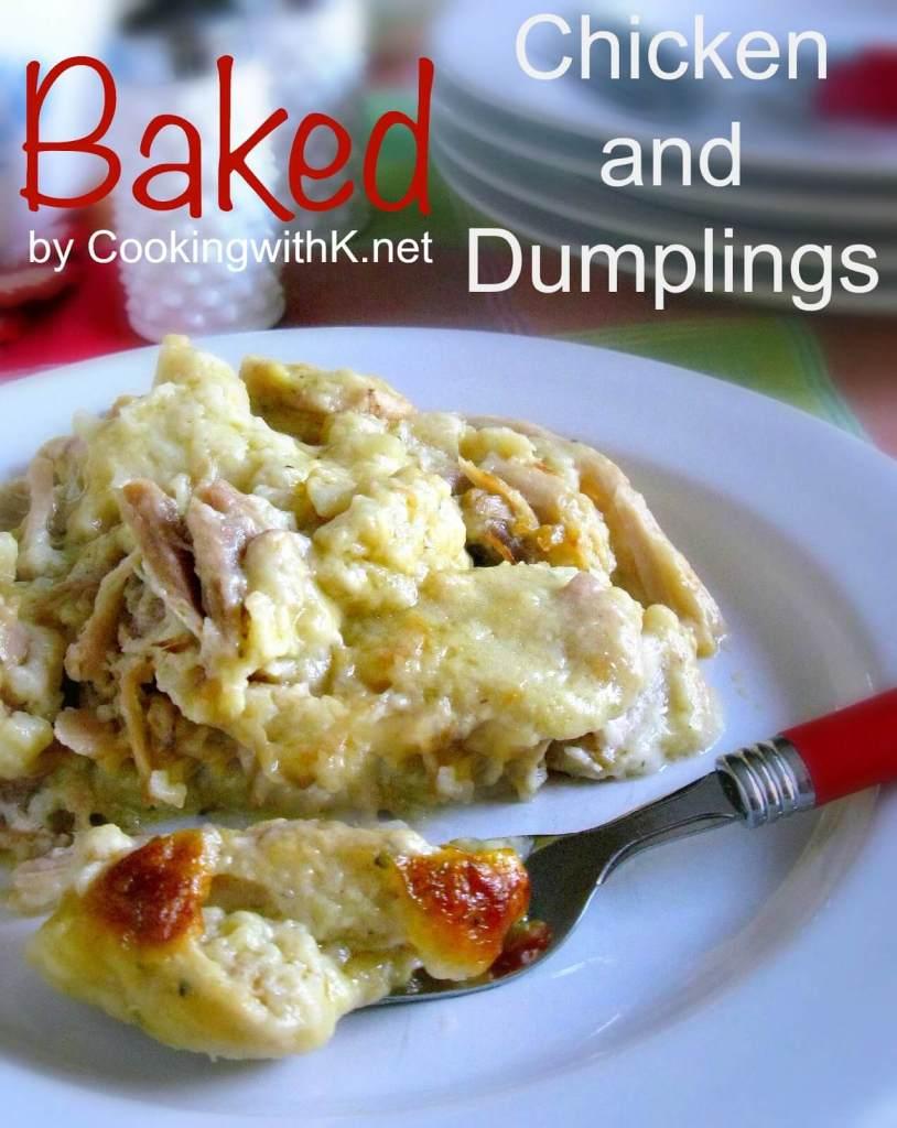 Baked Chicken and Dumplings Casserole