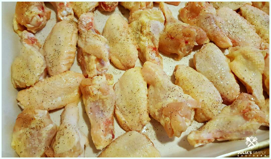 How to bake chicken wings at 400