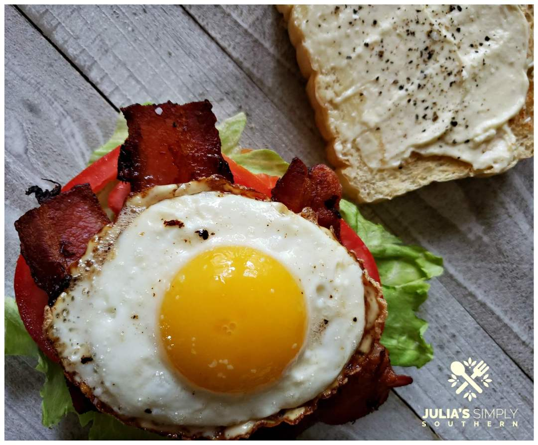 Best BLT Sandwich Recipe. A breakfast BLT is the ultimate in classic delicious sandwiches. Enjoy it anytime of the day and especially at breakfast with a runny yolk fried egg.