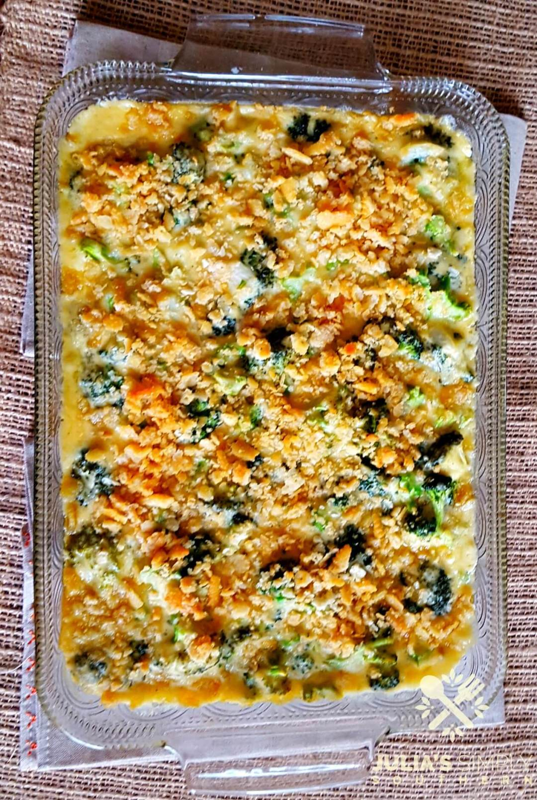 Easy broccoli and cheese baked side dish