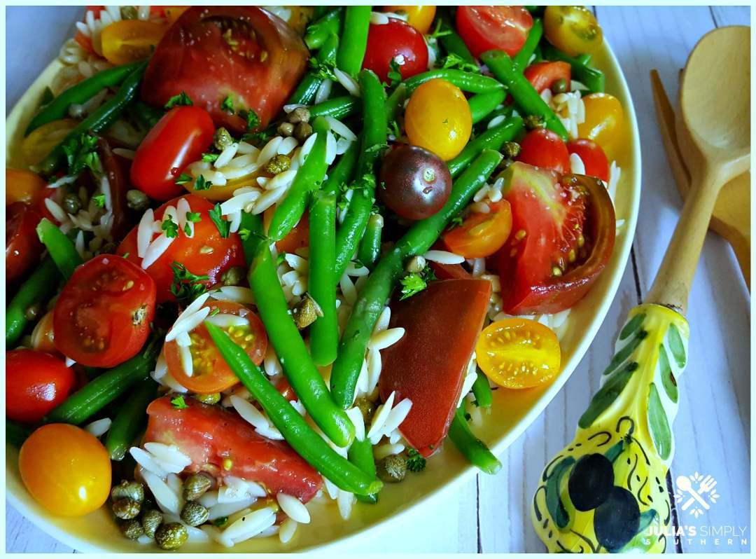 Easy cold green bean salad recipe