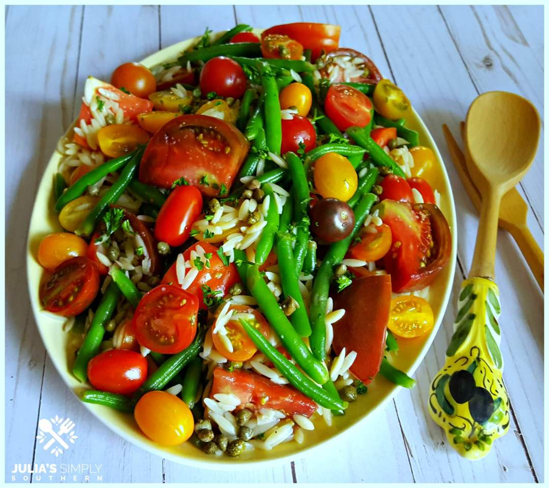 Heirloom Tomato and Green Bean Salad - delicious recipe - clean and fresh salad