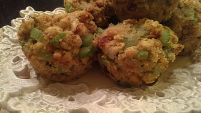 Delicious Stuffing Muffins for small holiday gatherings