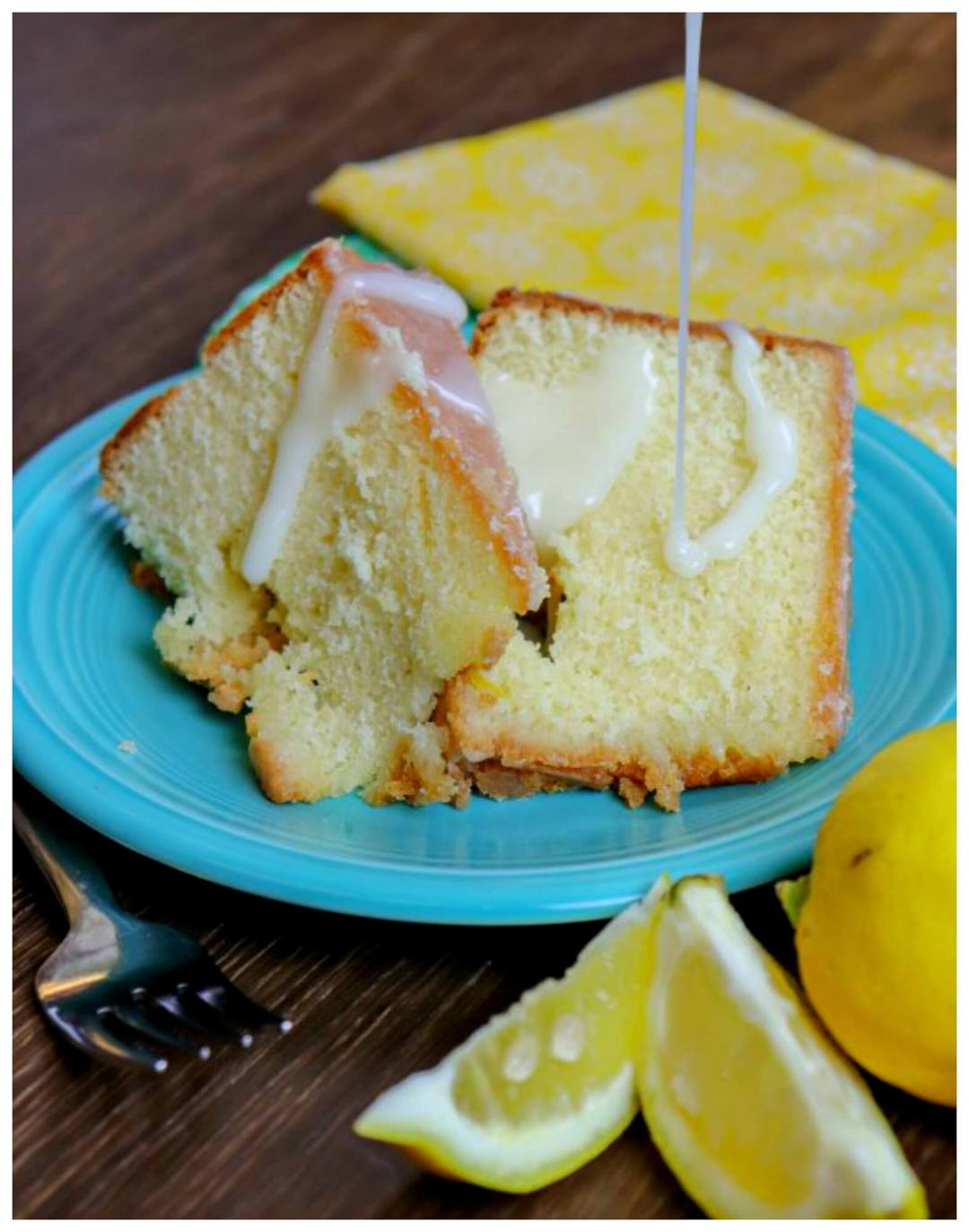 Lemon Pound Cake - Back to My Southern Roots