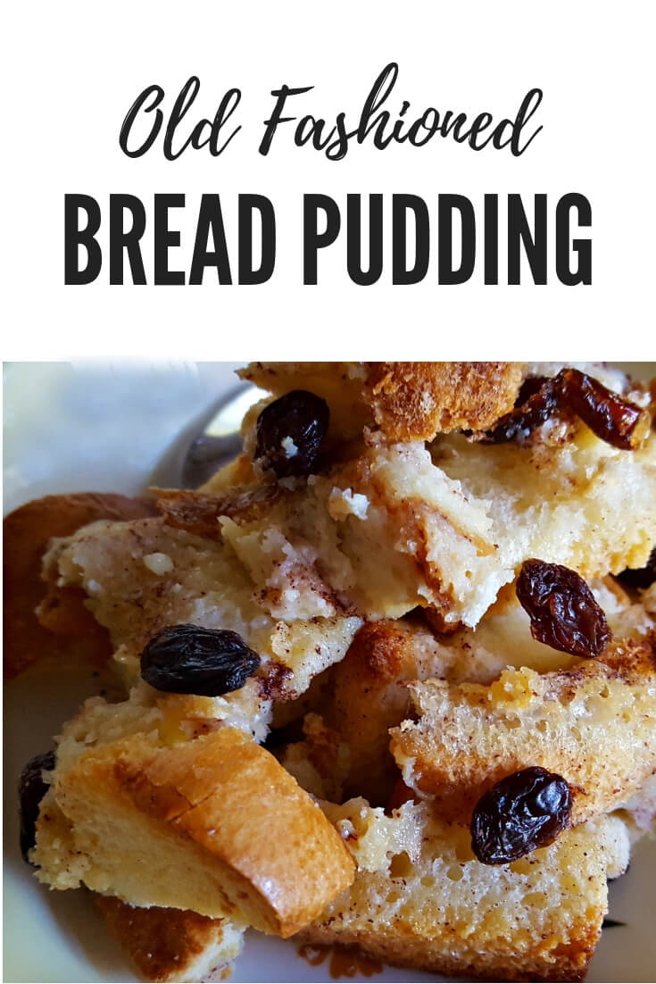 Old Fashioned Bread Pudding #dessert #classic #Holidays Julia's Simply Southern