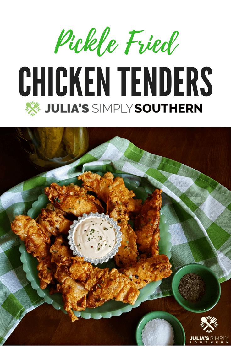Pickle Fried Chicken Breast Tenders #KidFriendly #FamilyDinner #EasyRecipe #chickenrecipes