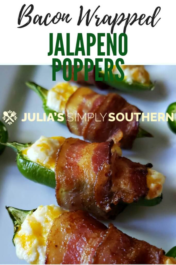 How to make jalapeno poppers? Make the ultimate smoky cheesy jalapeno poppers with this recipe. These bacon wrapped jalapeno poppers are a great appetizer for game day, movie night and gatherings. It's easy to prepare and always a hit. #appetizers #gameday #jalapenopoppers