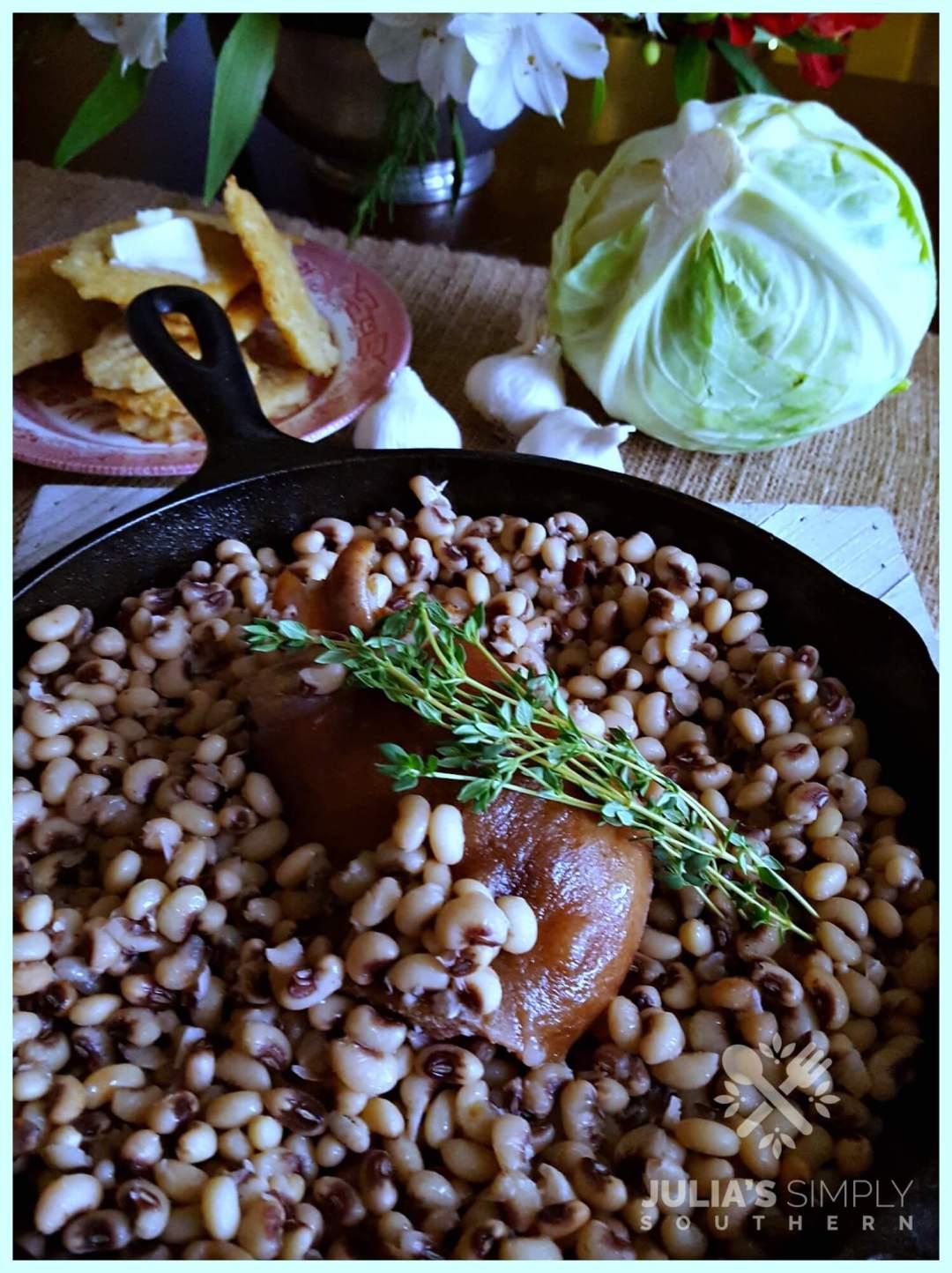 How to cook purple hull peas