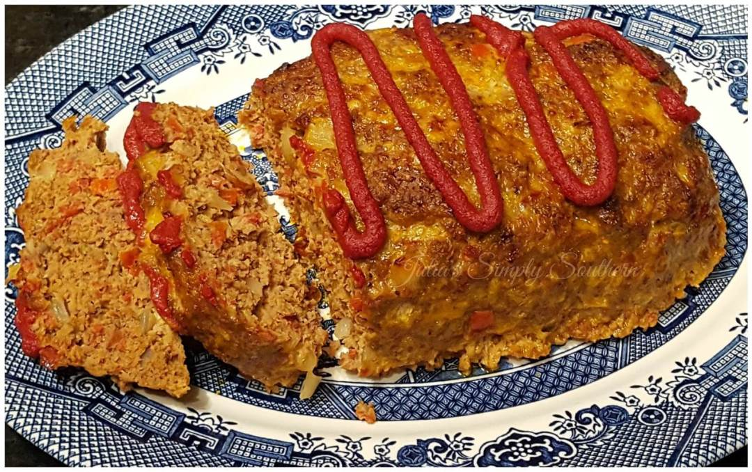 Meatloaf Recipe - Delicious with pepperoni added