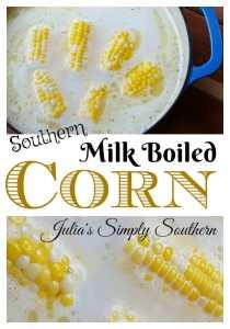 Southern Milk Boiled Corn