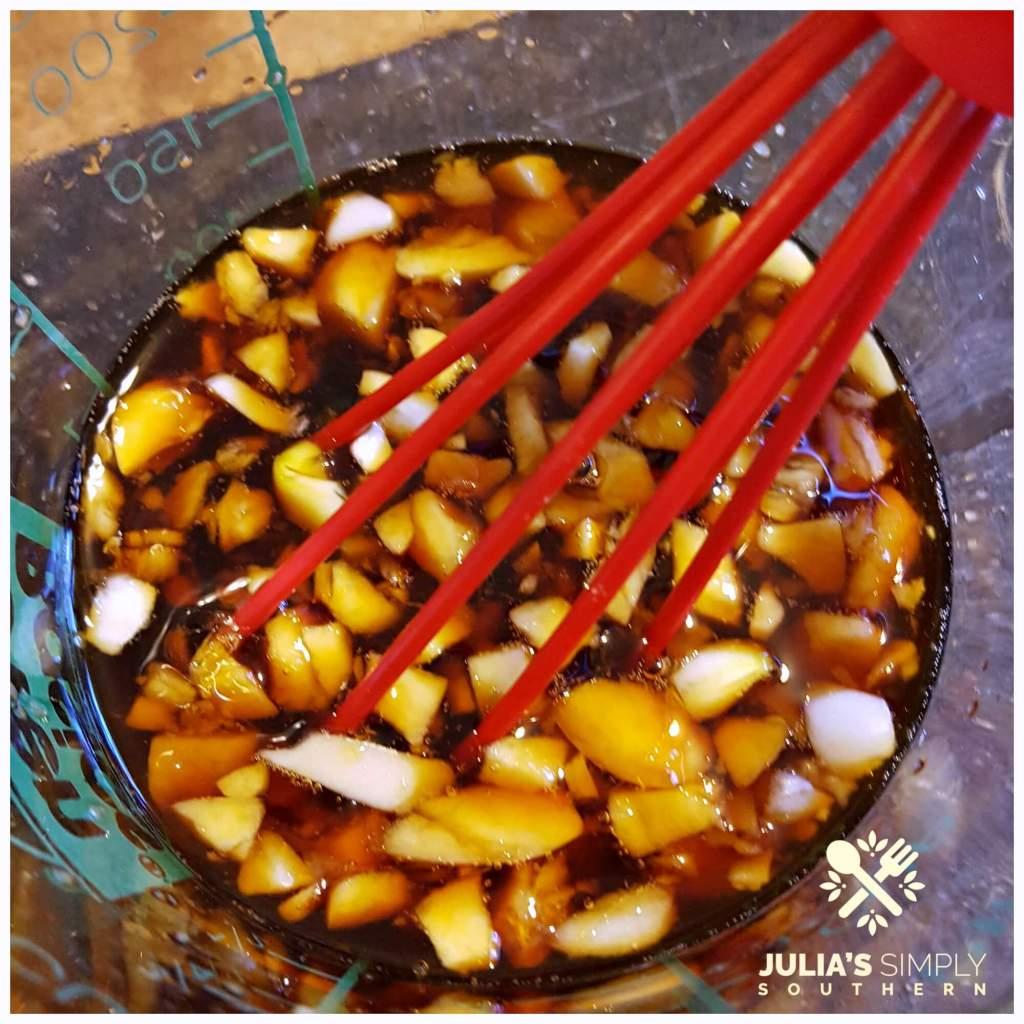Stir Fry Sauce - Soy sauce, garlic and ginger paste