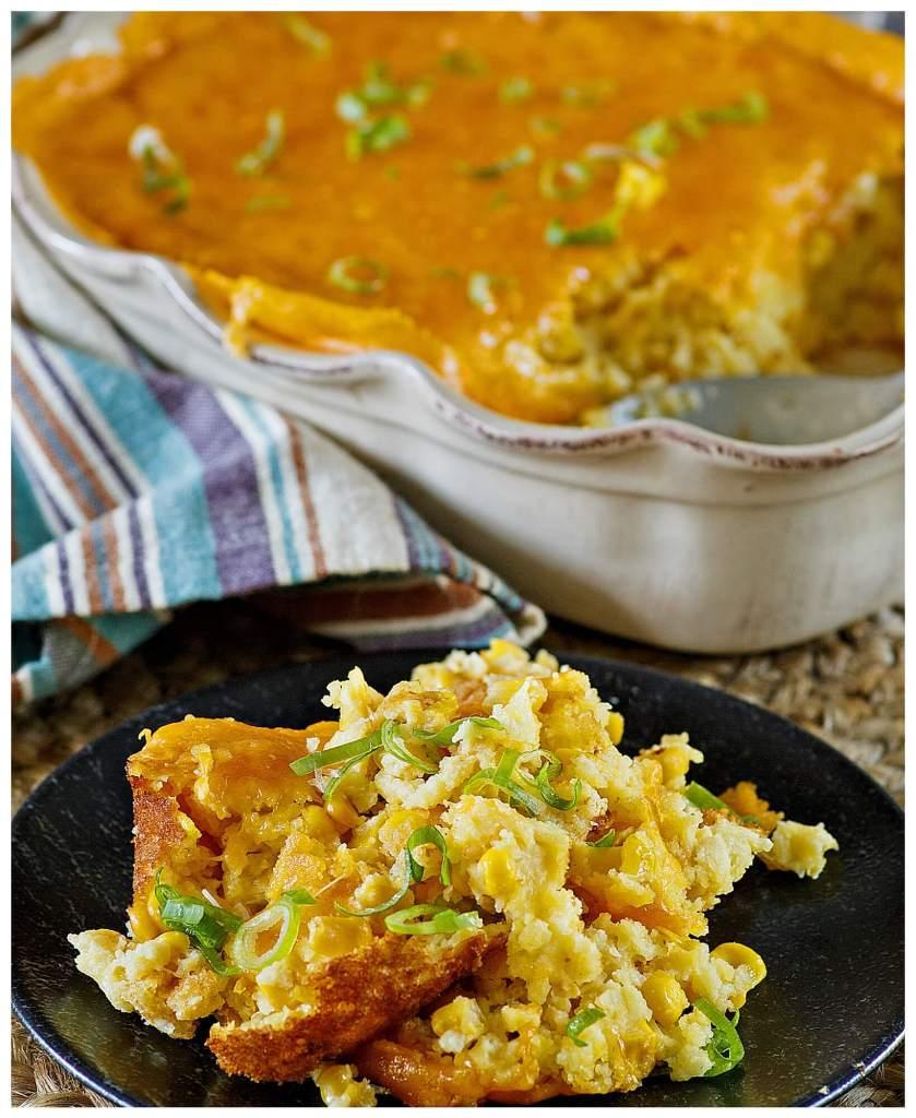 Easy corn pudding casserole recipe