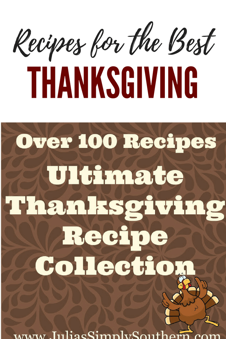 Over 100 delicious recipes for Thanksgiving #Thanksgiving #Holidays #Recipes