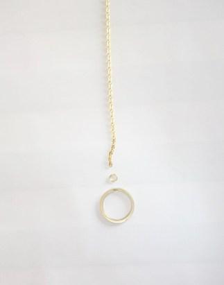 Goldkette, Schere, basteln, DIY, selber machen, do it yourself, mobile, diy mobile, schlüsselanhänger,