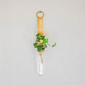Reagenzglas Vase für die Wand - Bastelanleitung mit Reagenzglas - Reagenzglasvase basteln für Blumen und Pflanzen