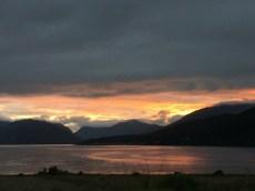 Loch Linnhe by night