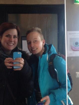 some elevator-mirror-fun :)
