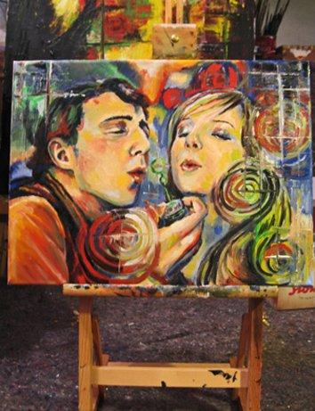 makingof oil painting 2009