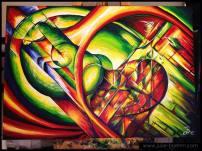 painting_chevauxplosion