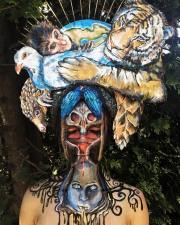 facepainting-glamour of the past