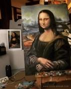 work in progress: Mona Lisa for Production Design