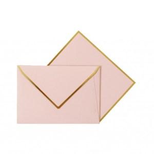 Enveloppe rose blush