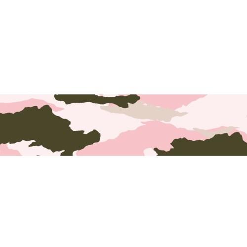 motif camouflage rose