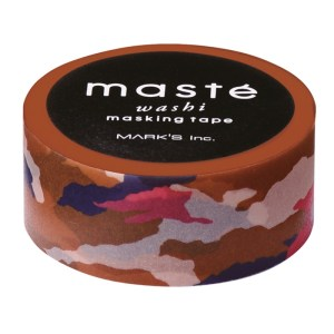 masking tape motif camouflage