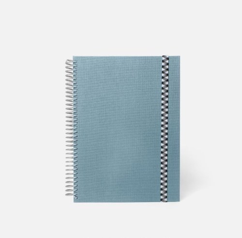 cahier A5 toile Jeans