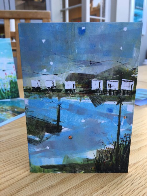 Emsworth Deck Houses Note Card