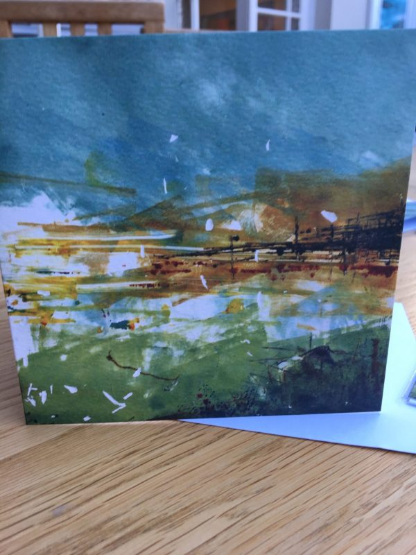 Golden Harbour Greeting Card